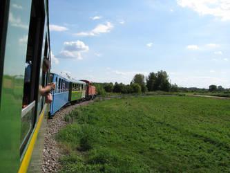 Balatonfenyves narrow gauge railway by ralesk