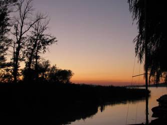 Balaton sunset by ralesk