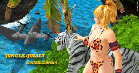 Jungle Juliet  SAVAGE-LAND 4    5-19-2017 by blw7920
