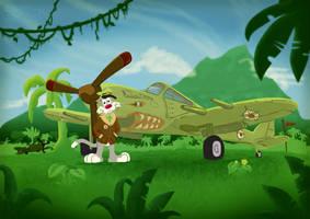 Kittyhawk Pilot Mk2 by DC-Tiki
