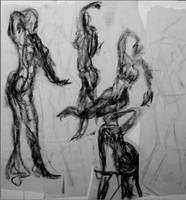 Gesture Collage by blanksofar