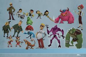 characterdesign by amavizca
