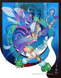 winter fairy by llamadorada