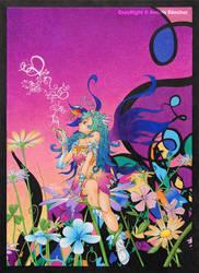 spring fairy by llamadorada