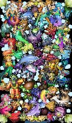 Characters design by llamadorada
