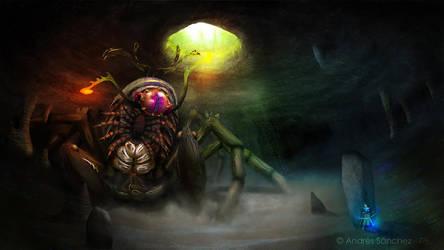 Earth Colossus by llamadorada