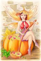 Pumpkin soup by llamadorada