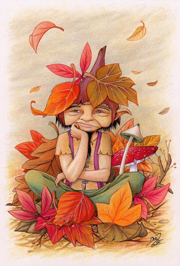 Autumn has arrived by llamadorada