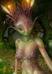 Forest spirit by llamadorada