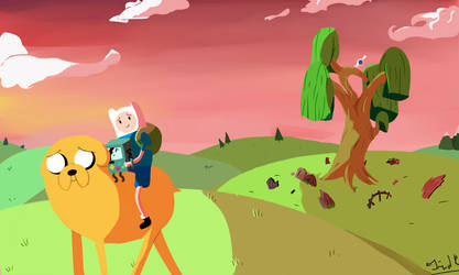 Adventure time ending by FernandaSailor