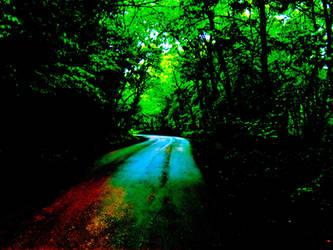 Rainbow Road by operabutterfly
