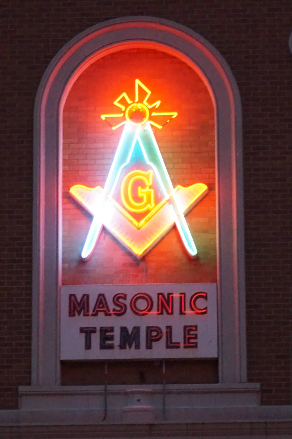 Masonic Neon by operabutterfly
