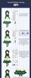 Sai Tutorial: Clothes Coloring by VermeilleRose