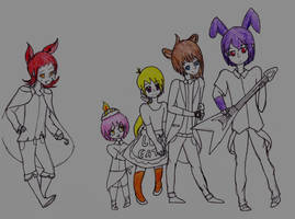 The Faz Gang by Prince-of-Spade