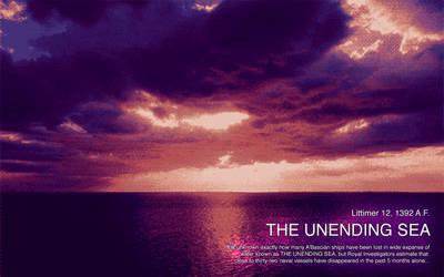 THE UNENDING SEA by DarkeSword