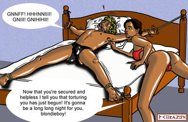 TICKLE TORTURE by bondageincomics