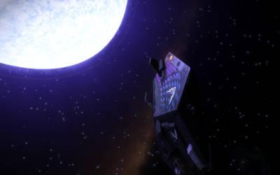 Blue-White Star 1 by benfortuneprice