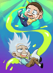 Rick-and-morty by neoanimegirl