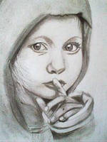 2013 drawing - Sshh.. by nielopena