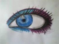 2013 drawing - eyeeees by nielopena