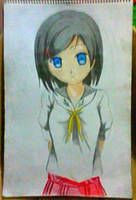2013 drawing - random anime by nielopena
