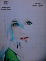 Jenny Nyan (Asada Sinon) Wip 1 by nielopena