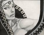 Lady God 3 by Izryell
