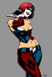 Harley Quinn by Izryell