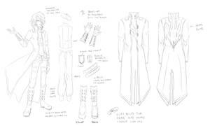 ultimate Kou reference sketch by hellangel
