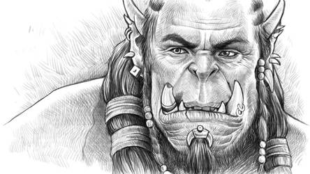 Durotan Son of Garad by FADCtoULTRA