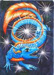 Cosmic Dragon by Azura-Roselion