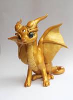 Dragon gold by Azura-Roselion