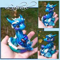 Dragon 'Laharl' by Azura-Roselion