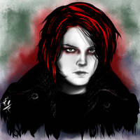 Gerard Way by Kyr1e