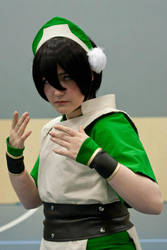 Toph, Avatar The Last Airbender by XxMyxWouldxX