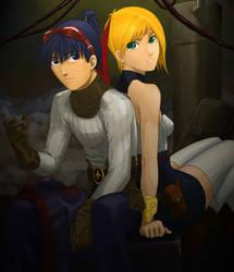 Ryu and Nina by locke20