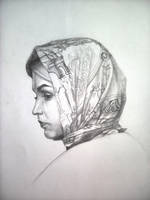 Girl With Headscarf by Laura2cute