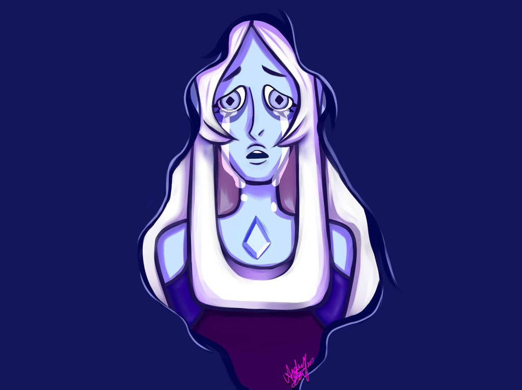 Blue Diamond Wallpaper W Tears And Out Shadow By Pinksakuraflower1