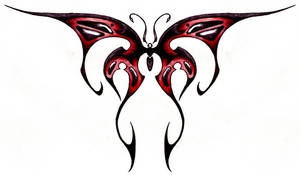 Tribal Butterfly 02 by Ashes360