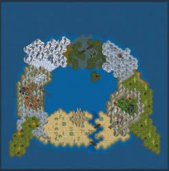 Midgaard - World map to my RPG system. by ShalBaala