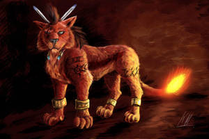 Red XIII by Kenaragirl