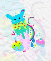 Bunny Ice by girlmarvel
