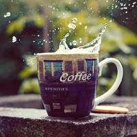 coffee splash by girlmarvel