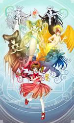 Sakura Card Captor by clayscence
