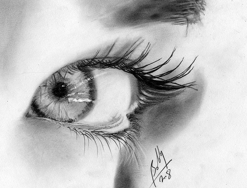 everyone draws an eye by Bobby-Sandhu