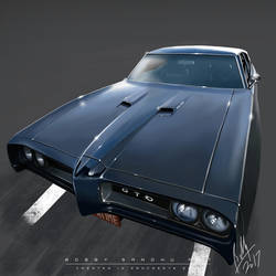 Pontiac GTO Outta Luck Outta Time by Bobby-Sandhu