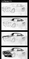 Ford Mustang Portrait Wips by Bobby-Sandhu