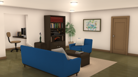 Aki's Apartment 1 by asterisk0228