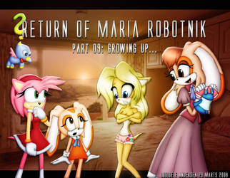 Return of Maria Robotnik Part9 by lu-raziel