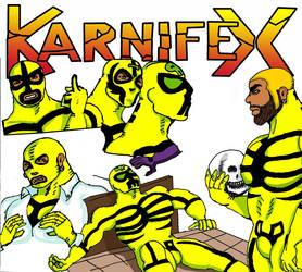 1960s Karnifex Luchador by M3Gr1ml0ck